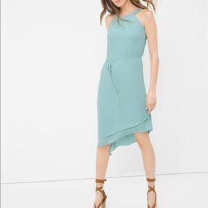 White House Black Market slimming layered dress